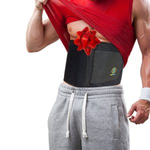 Just Fitter Premium Waist Trainer & Trimmer Belt for Men & Women