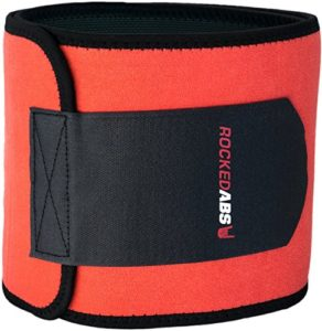 Rocked Abs Workout Waist Trimmer Belt for Men and Women