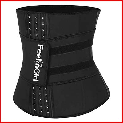 FeelinGirl Latex Underbust Waist trainer For Loss Weight