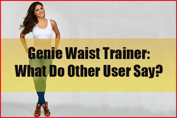 What do other user reviews say about Genie waist training belt