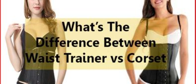 What's the difference between waist trainer vs corset