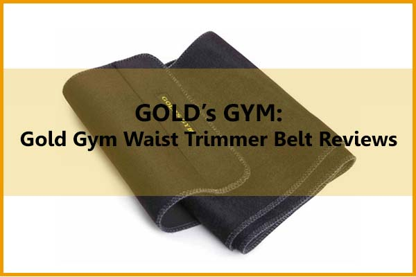 GOLD's GYM Gold Gym Waist Trimmer Belt Reviews Article