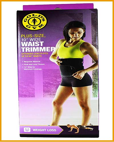Gold Gym waist trimmer belt instructions